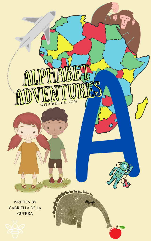 Alphabet Adventures with Beth and Tom Letter A